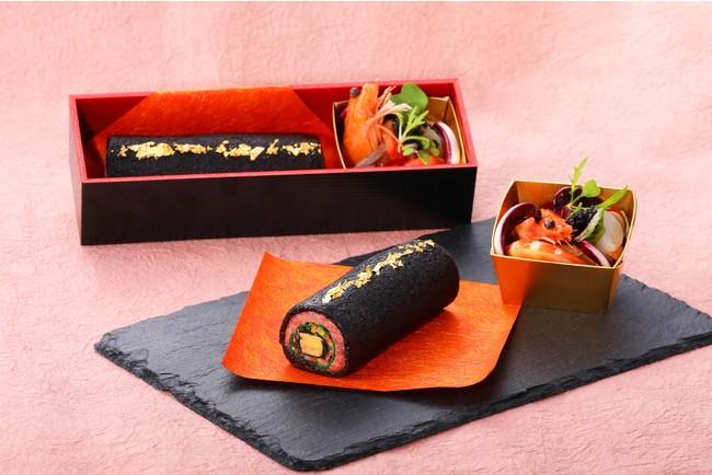【ザ・プリンス 京都宝ヶ池】世界三大珍味を楽しめる「洋風恵方巻き」と京都産食材にこだわった「恵方巻きロールケーキ」を販売  @PRTIMES_JP