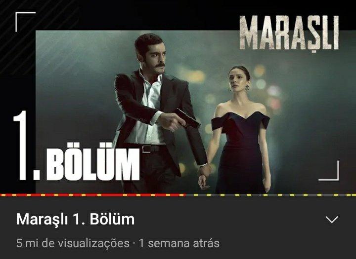 📍| Atualização   • 1° episódio chegou a marca de 5M de visualizações • 2° episódio chegou a marca de 4M  e vincula na 6ª posição entre os videos em alta. 💥🎊🎉   Link abaixo do canal oficial:  https://t.co/vzObNe1wXb  • #BurakDeniz • #AlinaBoz • • #Maraşlı • https://t.co/jckfkscaUF