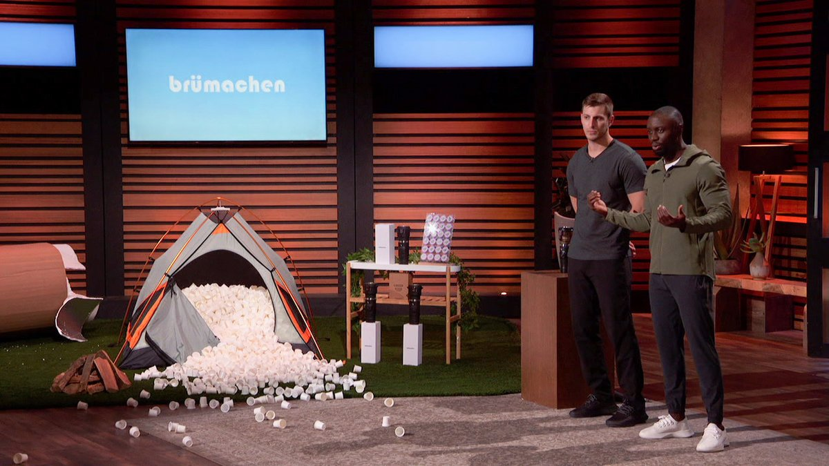 This is what entrepreneurship is all about - seeing a problem and creating a solution no one has thought of yet. 👏 👏 #SharkTank @Brumachen