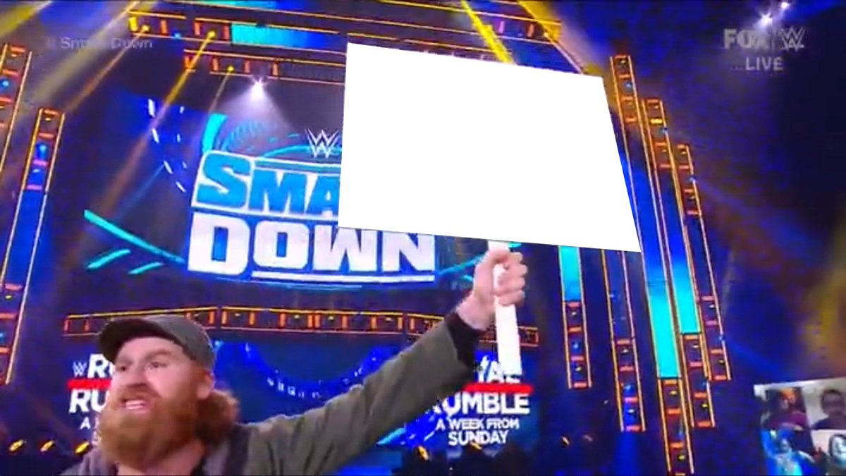 Start Your Own Campaign  #JusticeForSami #SmackDown