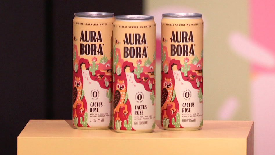 I love the design of the can. You gotta have a product that catches the eye of the consumer. #SharkTank @ABCSharkTank @drinkaurabora