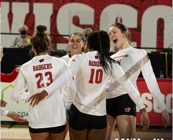Wisconsin #Badgers volleyball: UW impresses in opener, sweeping away Purdue  @BadgerVB looked every part of the No. 1 team in the nation in their season-opening victory over the Boilermakers.