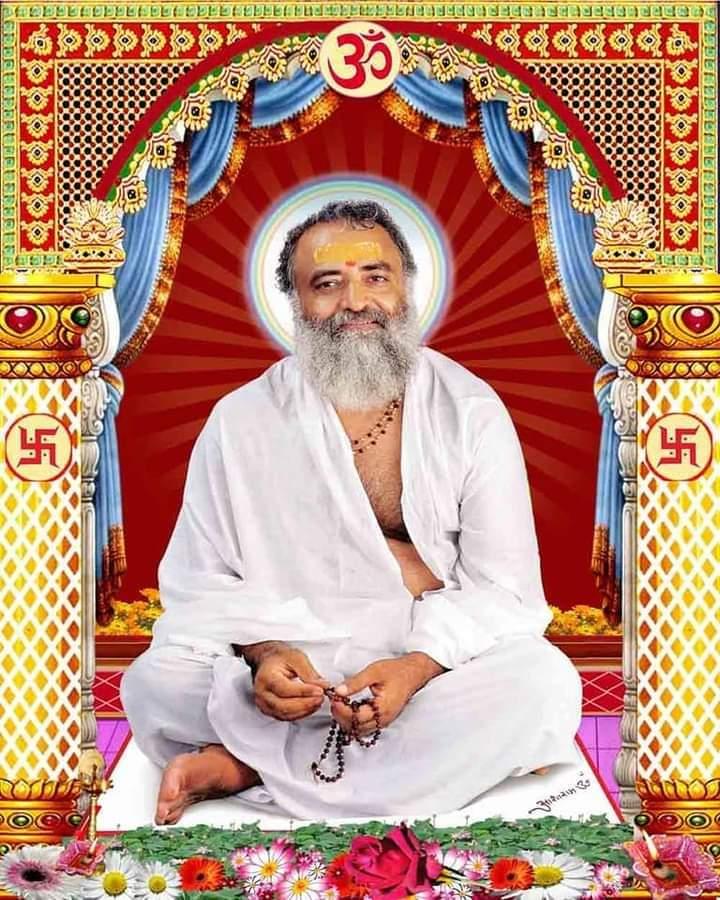 @asharamjibapu_ संन्यासस्तु महाबाहो दुःखमाप्तुमयोगतः। योगयुक्तो मुनिर्ब्रह्म नचिरेणाधगच्छति।। 🌷🌷 कर्मयोग में मन, इन्द्रिय और शरीर द्वारा होने वाले सम्पूर्ण कर्मों में कर्तापन का त्याग प्राप्त होना कठिन है और भगवत्स्वरूप को मनन करने वाला कर्मयोगी परमात्मा को शीघ्र ही प्राप्त हो जाता है। #Bapuji