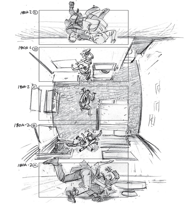 Replying to @hitRECordJoe: INCEPTION storyboards..