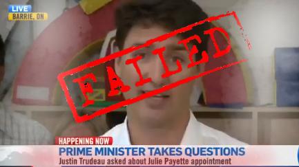 This guy is such a failure #RadicalLeftistAgenda #TrudeauMustGo #TrudeauFailedCanada #TrudeauWorstPMEver #WeNeedPPC #VotePPC