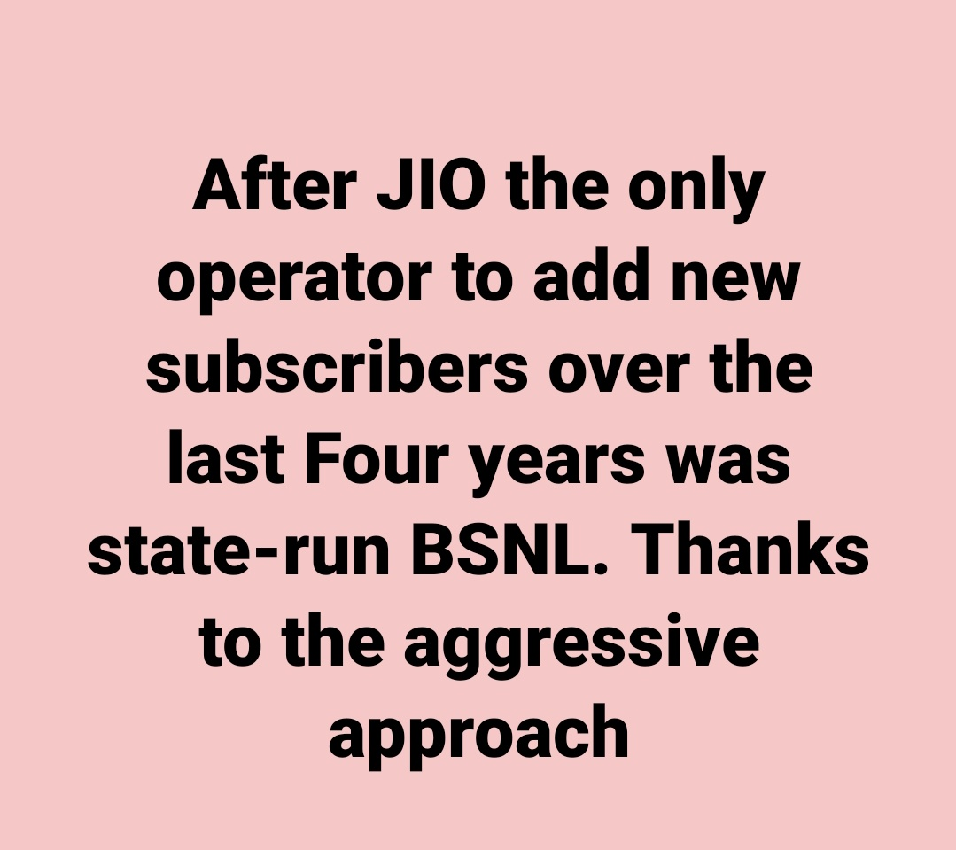 #TruthIsLouder #TruthMatters @VPSecretariat @MVenkaiahNaidu  @PMOIndia @narendramodi sir kindly allot #BSNL4G #India is waiting for longtime kindly dont delay please @rsprasad @OfficeOfRSP @DoT_India @TRAI @ETTelecom @TelecomTalk @republic  @aigetoachq @sneachq @aiteea_India