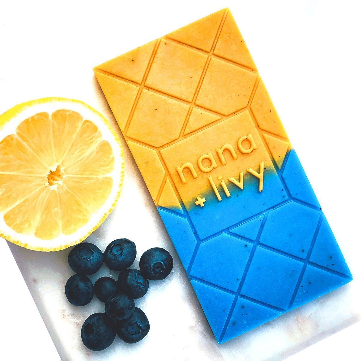 Valentine's day gift idea - spa collection 💝  Blueberry Lemonade Choco Soap    #blueberry #lemonade #chocolate #soap #spa #coconutoil #cocoabutter #fragrance #oil #lemonpowder #madeincanada #vancouver #ValentinesDay #valentinesdaygift #giftidea