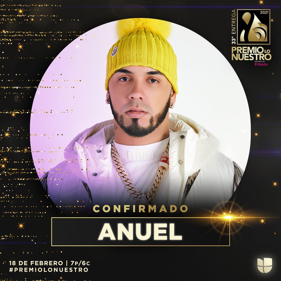 ¡Brrrrrr! Después de esto solo queda decir que @Anuel_2bleA estará en #PremioLoNuestro este 18 de febrero. La cita es a las 7P/6C