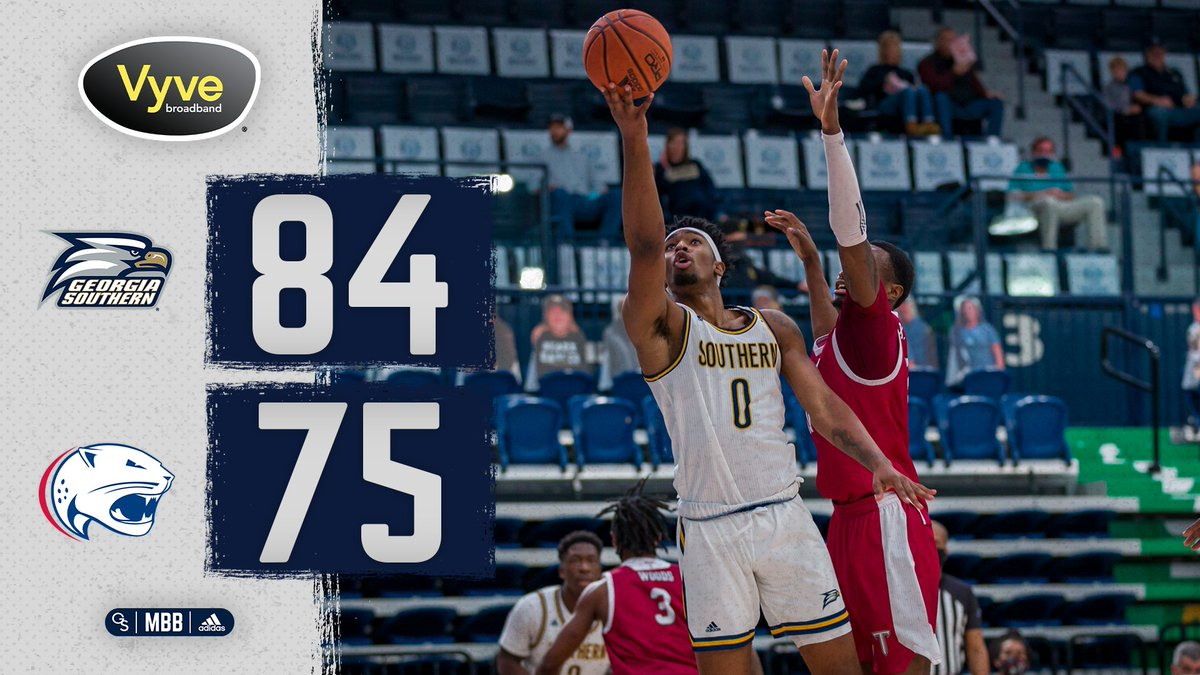 Final from the Mitchell Center - Run it back tomorrow at 5 p.m. ET!  #HailSouthern | #GATA | #SunBeltMBB https://t.co/2aDbibn6IA
