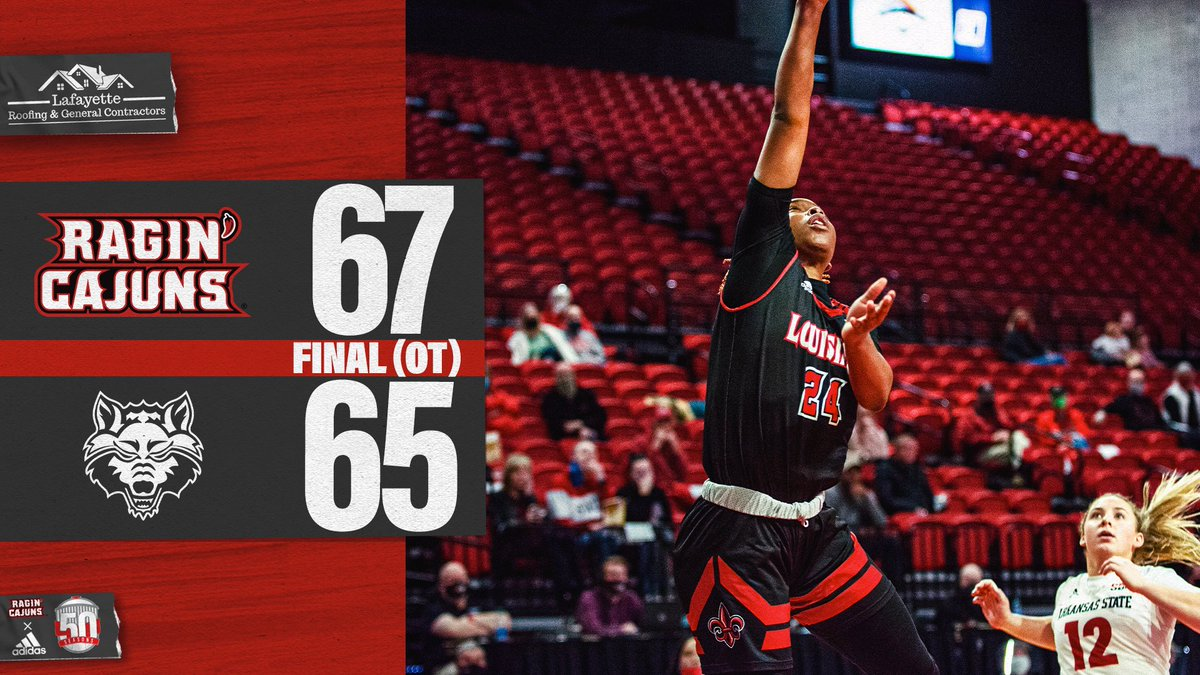 😬😬😬  🤟 𝗟𝗢𝗨𝗜𝗦𝗜𝗔𝗡𝗔 WINS!   #GeauxCajuns | @LafayetteRoofin https://t.co/7aKpr2wEHy