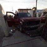 Image for the Tweet beginning: #Tamaulipas #Narcotrafico #Vídeo; BALACERA en