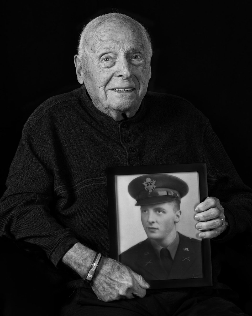 """Alban """"Al"""" Reid #Army 2LT, enlisted in 1940 as a Private. deployed to Trinidad with the military news. selected for Officer Training he chose Infantry Officer & was a Platoon leader with an anti-tank unit. #SilverStar, #BronzeStar #CroixdeGuerre, 2 #PurpleHearts  #wwii #veteran"""