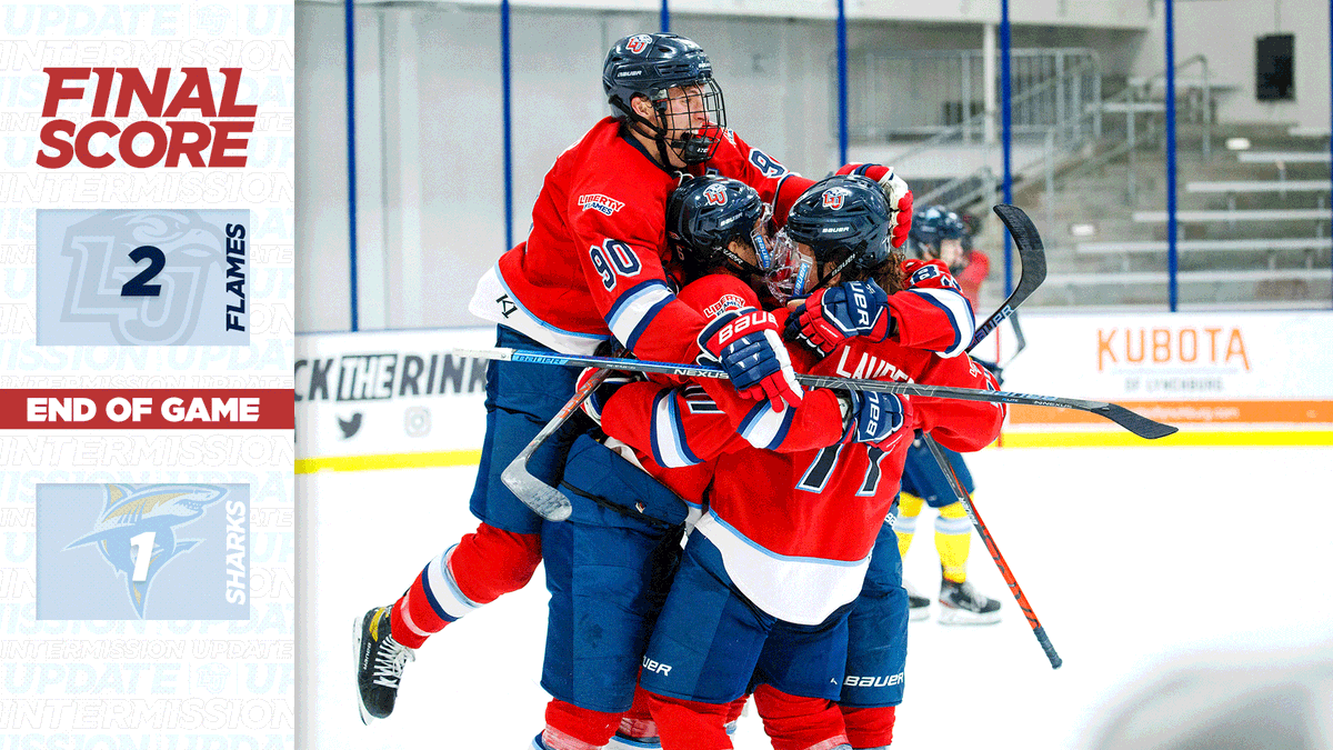 THINGS WE DID:  THAT!   Your Flames defeat NCAA D1 Long Island Sharks, our first ever win against an NCAA opponent! #RockTheRink