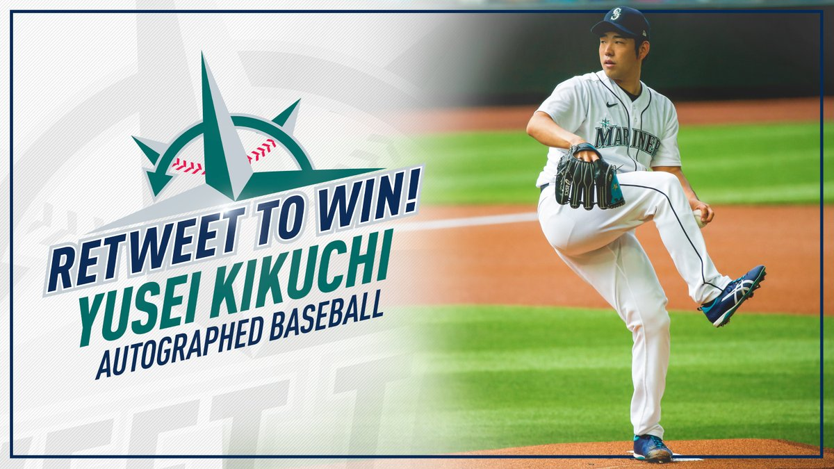 Replying to @Mariners: ⚾ RT TO WIN ⚾   Retweet this for a chance to win a signed baseball from Yusei Kikuchi! #BaseballBash