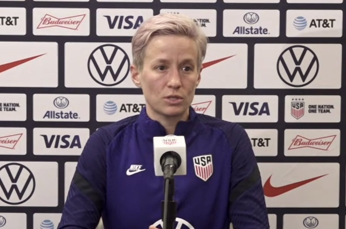 "👉""Sam is the best player on the team right now."" ~ @mPinoe #uswnt"