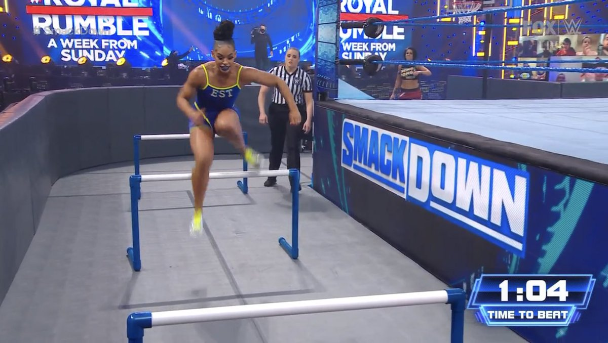 And MY NEW role model, @BiancaBelairWWE! #SmackDown