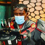 Image for the Tweet beginning: David Harewood shares a new