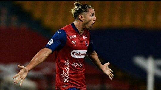 Agustín Vuletich registra 3 goles en los 3 partidos que ha disputado Medellín esta temporada.  Un fichaje que ilusiona a la hinchada del poderoso.  Goles: Vs Júnior  (Copa 2 - 1) Vs Patriotas  (doblete Fecha 2 Liga Betplay) https://t.co/AZshF1a6hU