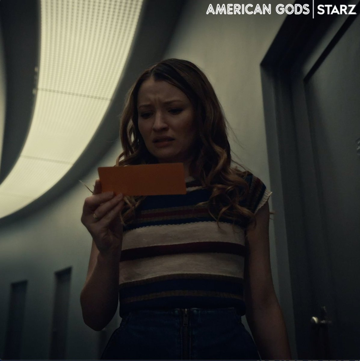 You don't have to tell me twice! Watch a new episode of #AmericanGods tonight on @STARZ or now on the app.