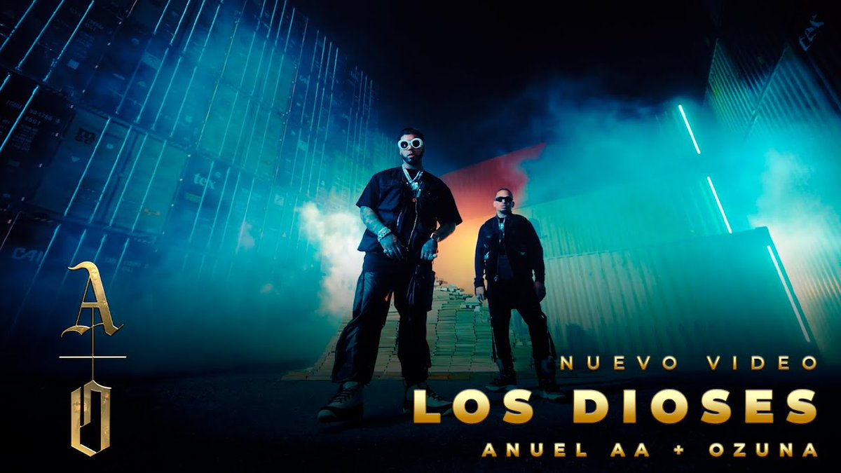 ¡Disfruta en @YouTube el video oficial de #LosDioses! 👏 @Anuel_2blea @Ozuna