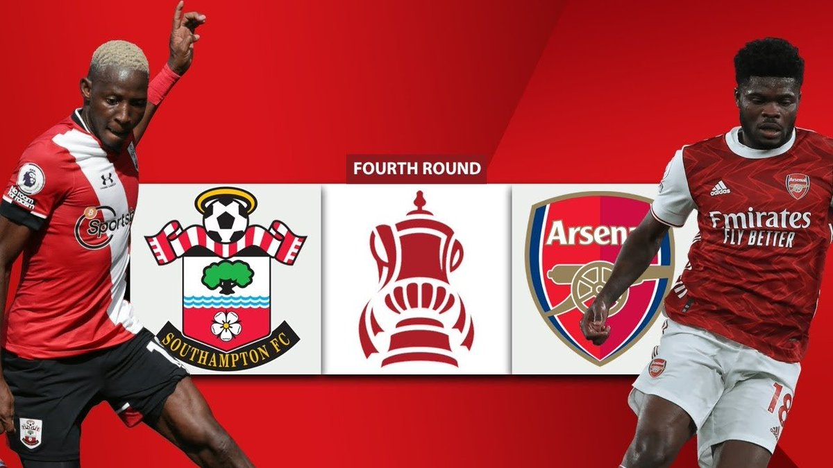 It's @Arsenal Matchday at St. Mary's in the #EmiratesFACup 4th round . Our last encounter was in the premier league where it ended 1-1 . Hoping for an Arsenal win. This is our cup and will win it once again. #COYG #SOUARS
