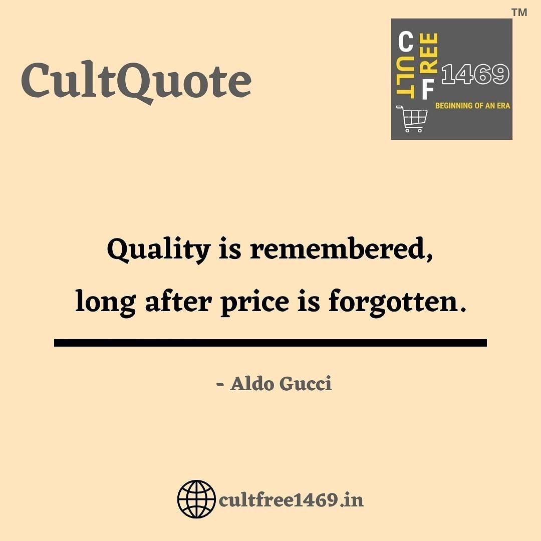 Good Morning Everyone . . . . #happysaturday #cultquote #gucci #aldogucciquotes #goodmornıng