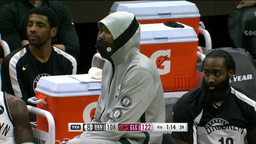 NETS LOSE TO CLEVELAND BY A COMBINED 24 POINTS IN BACK TO BACK GAMES 😐