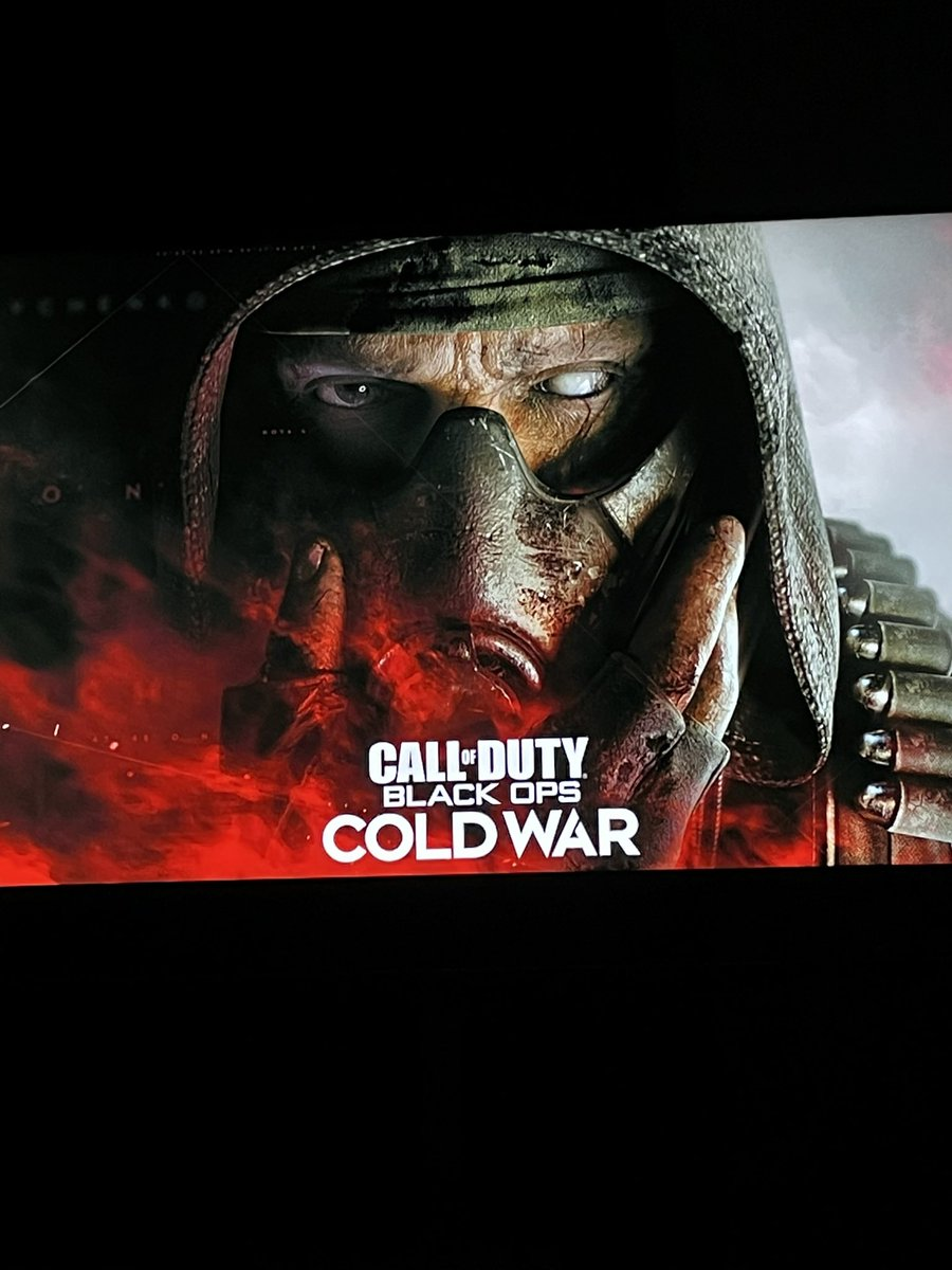 Time to game Xbox One X #CallOfDutyBlackOpsColdWar