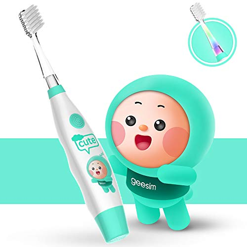 2 YTS Baby Electric Toothbrush——2 Brush Head Inside