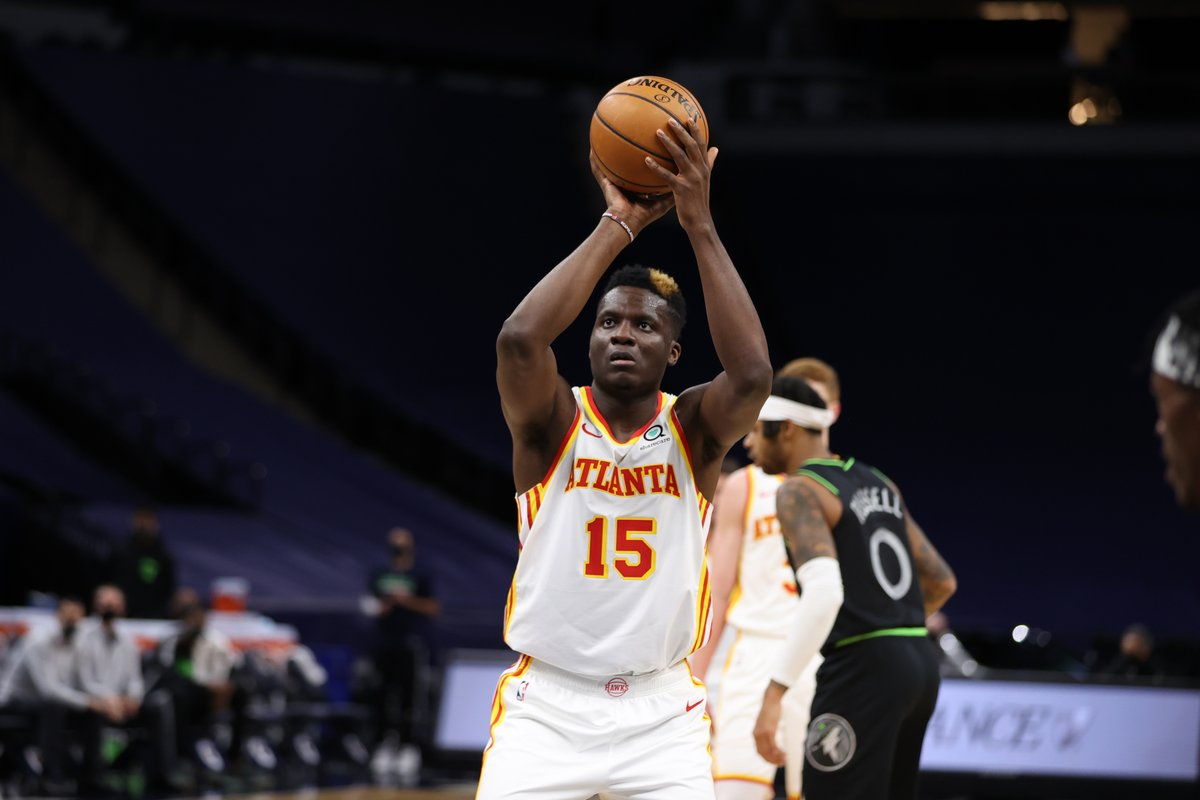Clint Capela is dominating the Wolves 🤯 13 PTS 19 REB 10 BLKS