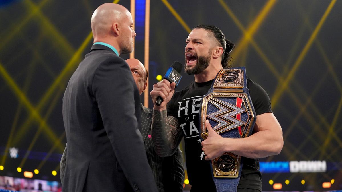 El jefe Tribal abriendo bien este nuevo WWE SmackDown.