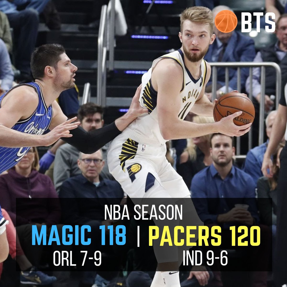 The Indiana Pacers defeat the Orlando Magic 120-118 in OT.  #sports #game #orlandomagic #magicaboveall #puremagic #podcast #spotify #applepodcasts #nba #MagicNation #Basketball #ESPN #followme #likeforlike #like4like #follow4follow #followforfollow #indianapacers