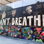 Image for the Tweet beginning: #Apple donates #BLM mural from