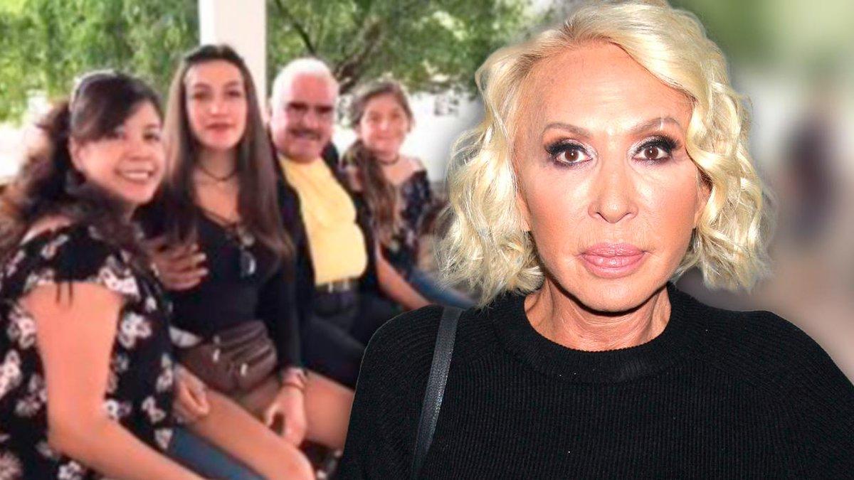 Laura Bozzo quedó confundida con la foto de Vicente Fernández tocando el seno de una joven.