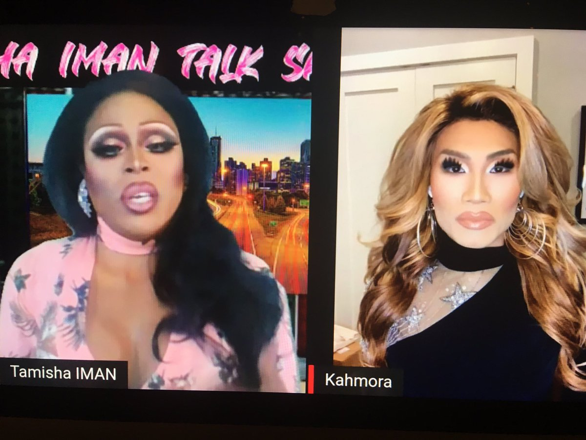 Girl, if you're not watching The @TamishaIman1 Talk Show, you're only getting half the story. #DragRace