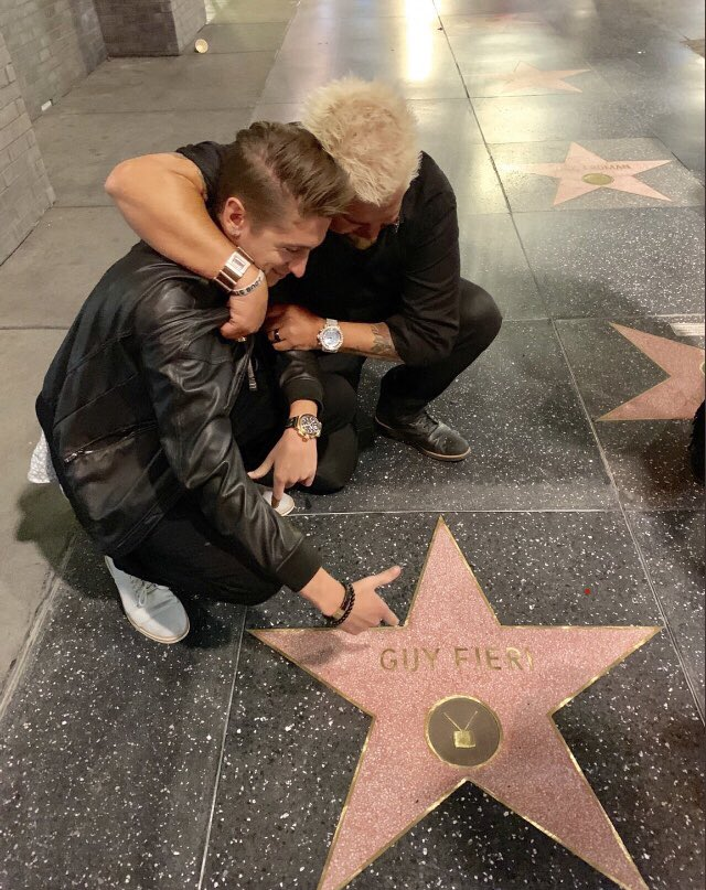 Happy Birthday to Walk of Famer Guy Fieri!