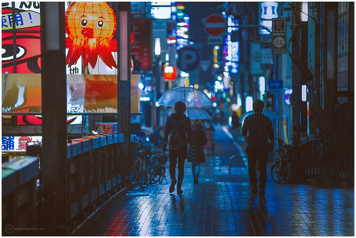Finished yesterday's location-scouting session in Osaka. The actual shoot will doubtless be pushed back to March, as current state of emergency here likely to be extended.   #osaka #night #Japan
