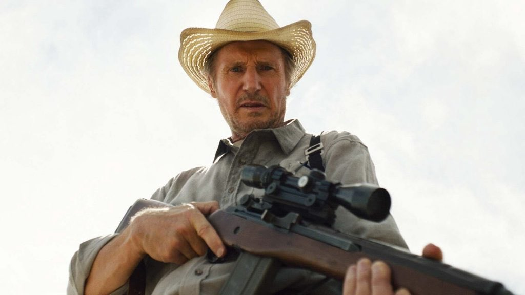 There's an odd comfort in these type of Liam Neeson actioners and it's that familiar feeling that pushes #TheMarksman a little closer to its recommended target. My review online at @brisbanista  @MadmanFilms @TheMarksmanMov