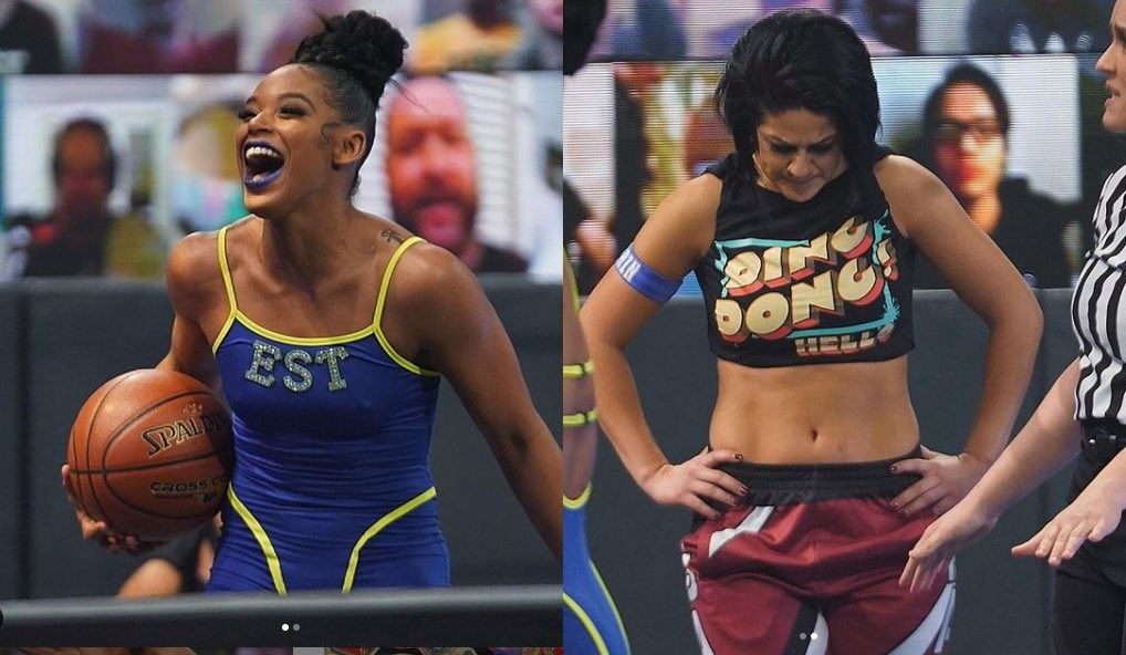 First two women to open The #RoyalRumble and the last two to end The Rumble. @BiancaBelairWWE @itsBayleyWWE Build on the story. Build on Belair duplicating her performance from last year. I've said that for months now. #Real It'll come full circle. @VinceMcMahon #SmackDown