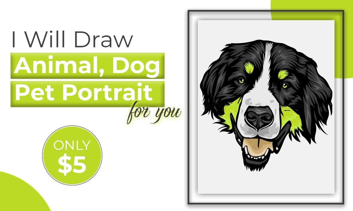 I will draw #animal #cartoon #pet #dog #cat #vector #portrait #art for you. Order Link:   #AlwaysLeadsToHavingSex #Rolex #EUPHORIA #DragRace #SVT_IN_COMPLETE #Haliburton #javascript #SLvENG #KırmızıOda #lockdown2021 #LGBTQ #quote #ENHYPEN