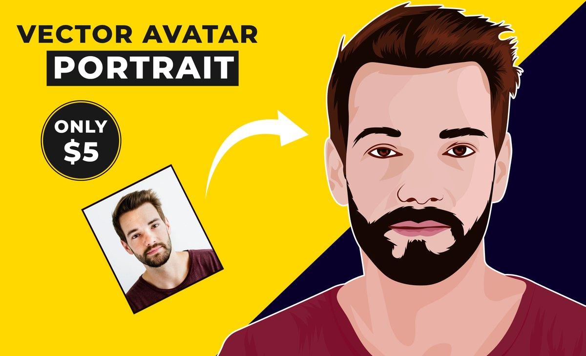 I will #making #expressive #vector #portrait #cartoon #caricature #funny #illustration for you.  Order Link:   #AlwaysLeadsToHavingSex #Rolex #EUPHORIA #DragRace #SVT_IN_COMPLETE #Haliburton #javascript #SLvENG #KırmızıOda #lockdown2021 #LGBTQ #quote