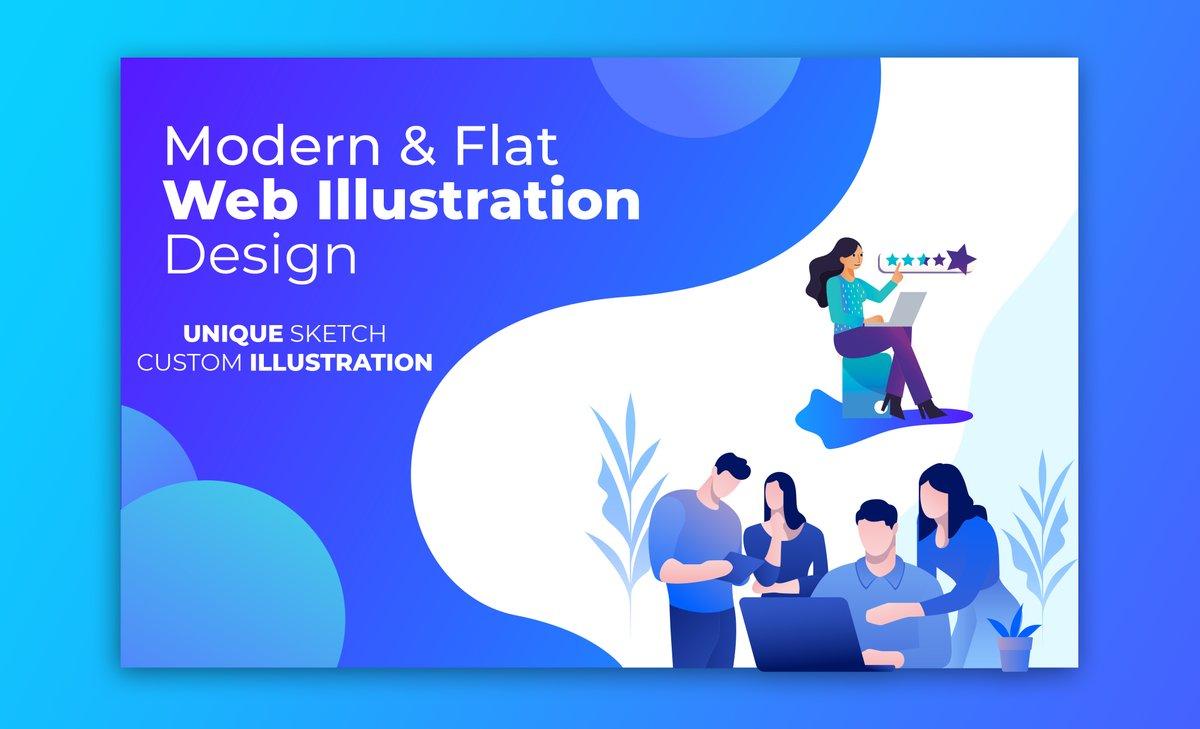 I will Design #modern #flat #illustration #characterdesign #web #webillustration for you Business #Website. If you Need feel to free contact me:   #AlwaysLeadsToHavingSex #Rolex #EUPHORIA #DragRace #SVT_IN_COMPLETE #Haliburton #javascript #SLvENG