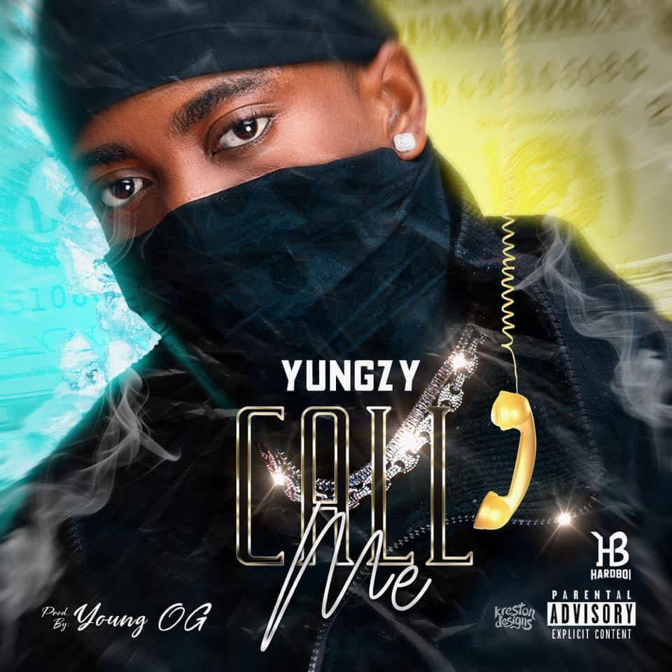 "Guys!!  Yungzy just dropped a song for us titled ""Call me"" this song is fire🔥  Update your playlist:     #CallMeByYungzy"