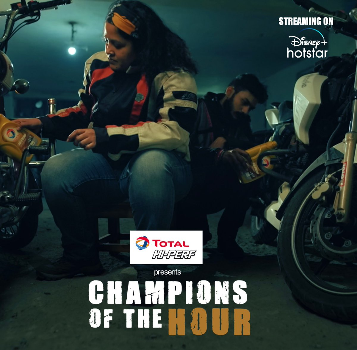 'Bikers for Good', a group of bike lovers are truly riding a wave of change in Delhi. Check out their inspiring story with me, only on #TotalHiPERF presents #ChampionsOfTheHour, streaming on @DisneyPlusHS.  Click here to watch -