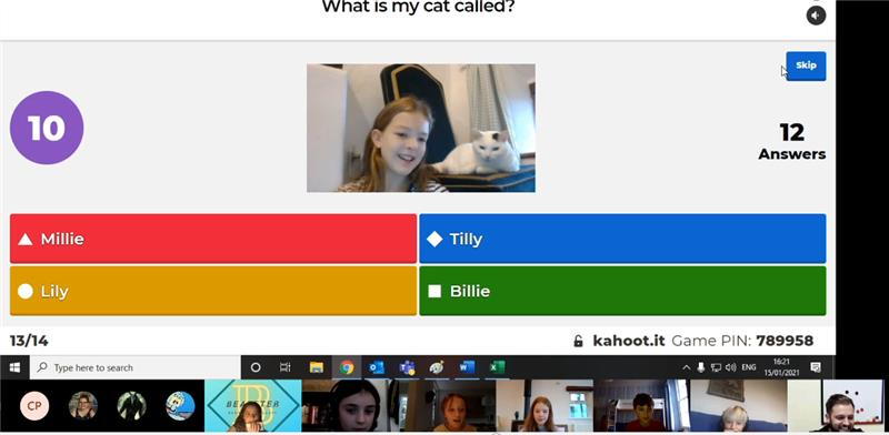 Our Boarding House family are still getting together to catch up virtually.  This week they took part in a quiz designed by Ellie-May B!   @BSAboarding https://t.co/mtt0nghiG0