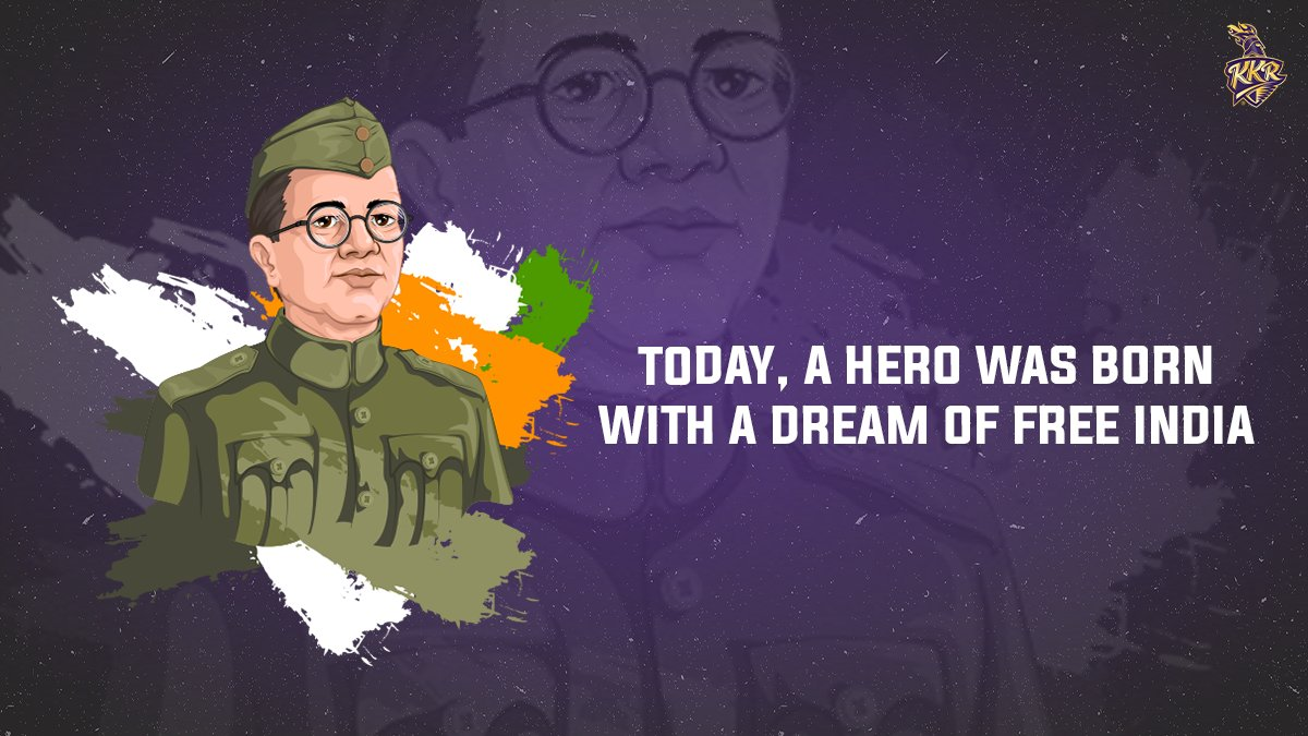 Remembering the visionary leader #NetajiSubhasChandraBose on his 125th birth anniversary 🙏  His courage and his words united the entire nation in its struggle for independence