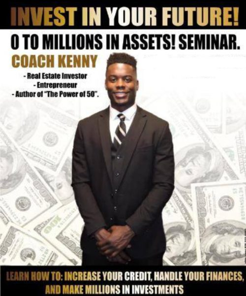 """""""It works if you do""""- Get 0 to Millions in Assets! After watching this informational Seminar, led by great motivational speaker @Coach_Kenny Click  Seminar,  #realestate #investment #knowledgeabletips #entrepreneur #motivation"""
