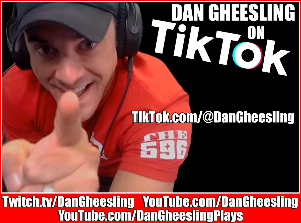 Go see @DanGheesling on TikTok! and #Instagram!📱🔥   🔥   🔥  #Gaming #VideoGames #GamingChannel #lol #Twitch #Twitter #FYP #TwitchGaming #Fun #Laugh #PC #GamingLife #Games #TwitchClip #PCGaming #ForYourPage #PUBG #Laughter #Tarkov