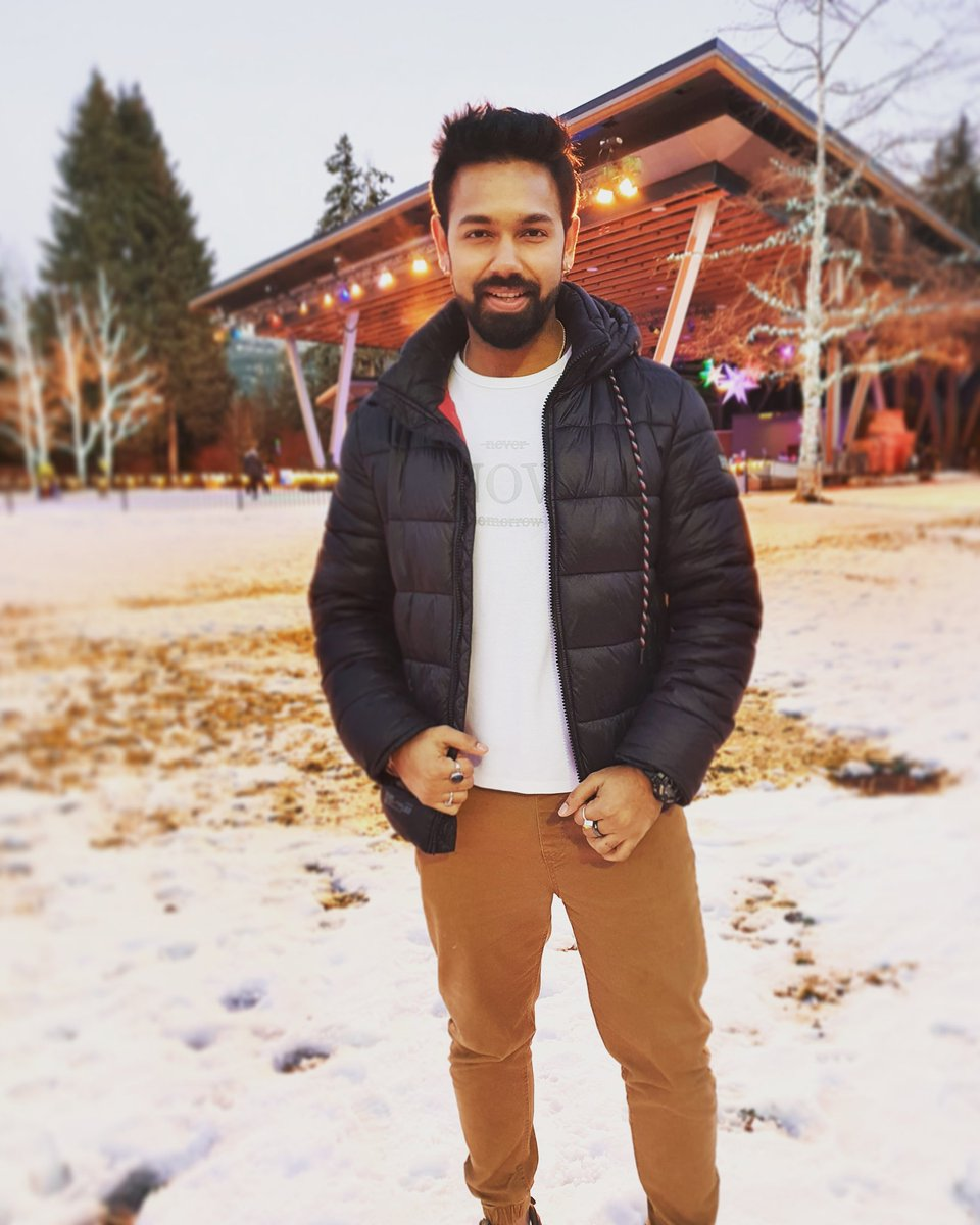 A day without a smile and a good laugh is a waste of a day. Whoever reads this, I want you all give me a big smile 😃😊🤗❤️.   #Whistler #Canada #WhistlerVillage #Smile #Joy #Happiness #Love #SaurabhPandey #Traveler #Travel