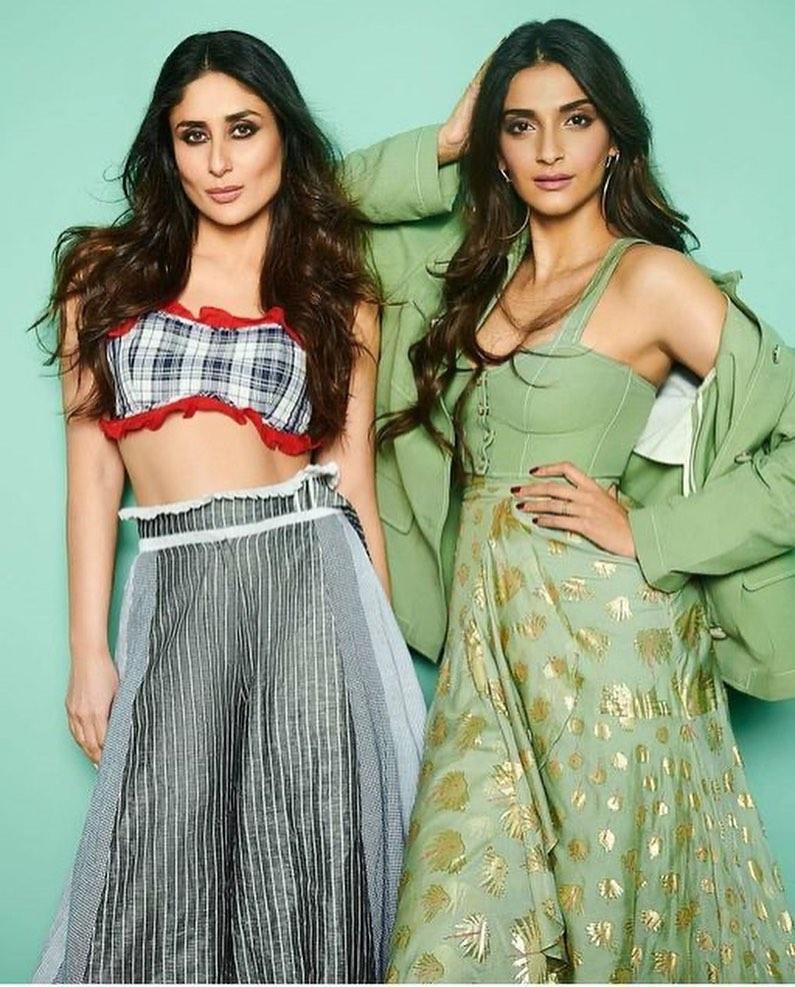 My Two Favourite Babes 💞 #KareenaKapoorKhan #KareenaKapoor #SonamKapoor